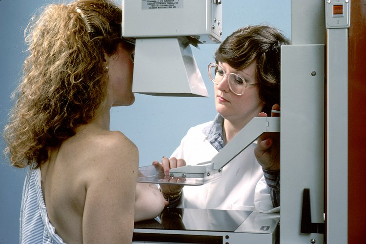 Mammography used as screening tool for breast cancer detection