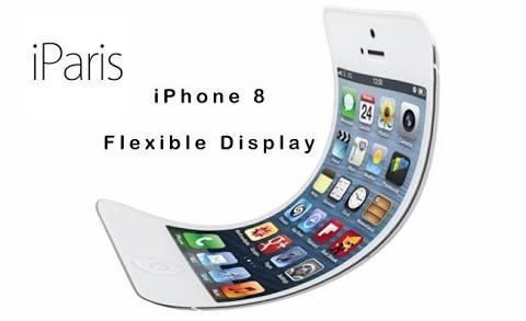Apple iPhone 8 Curved OLED Screen