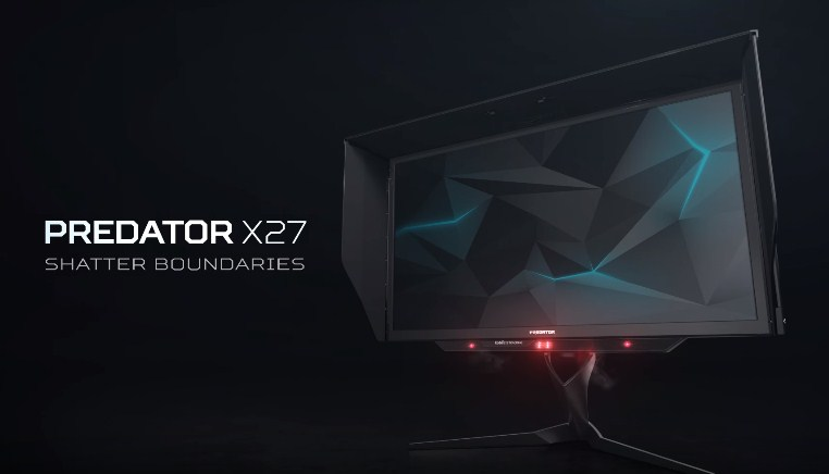Acer had just released its beastly monitor Predator X27 with specs that some gamers dream of.