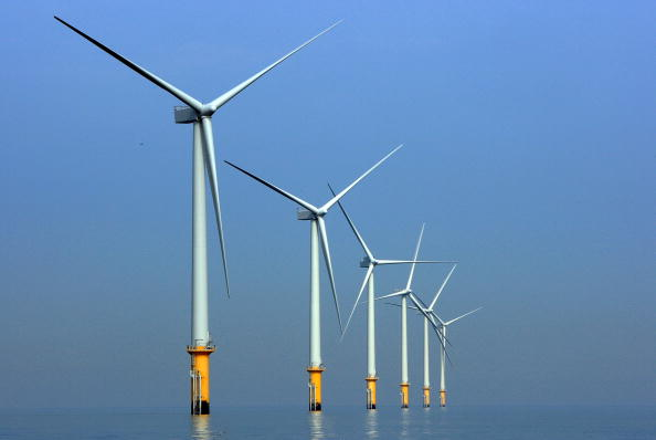 File photo of windmills