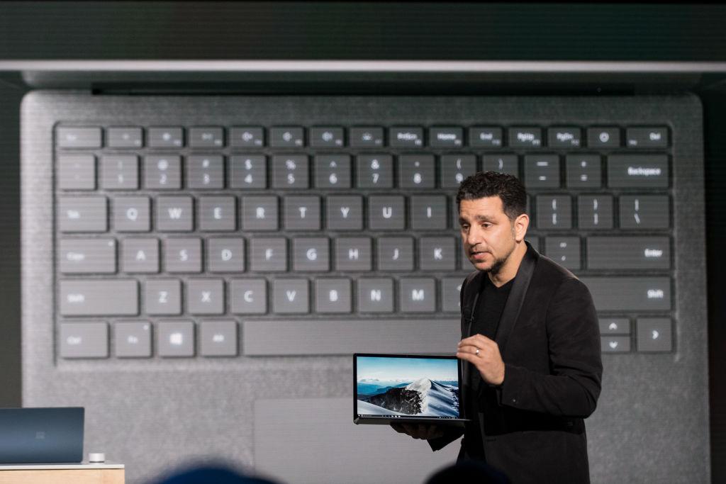 Microsoft Surface Laptop launch event