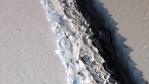 NASA Captures Alarming Image Of 70-Mile Long Antarctic Ice Shelf Rift