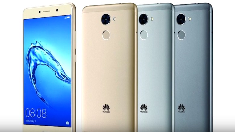 Color availability for the Huawei Y7 Prime were identified to be Streamer Gold, Silver and Gray.