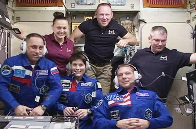 ISS Space Crew - Expedition 42 Crew Members