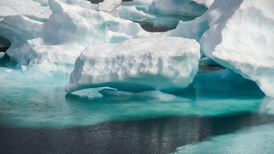Green Iceberg Saves The Ocean
