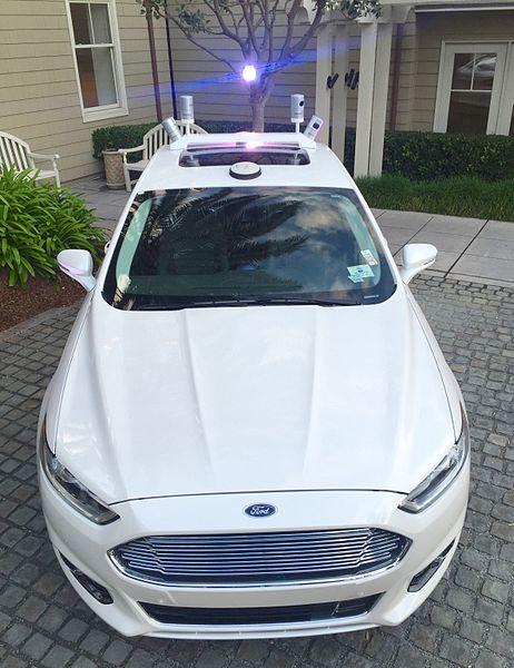 Ford Autonomous Test Vehicle