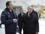 Igor Komarov And Vladimir Putin