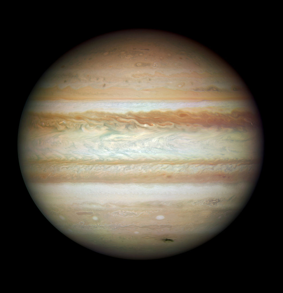 In this image provided by NASA, ESA, and the Hubble SM4 ERO Team, the planet Jupiter is pictured July 23, 2009 in Space.