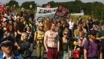 An Anti Coal Protest Rally