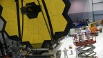 Engineers and technicians assemble the James Webb Space Telescope on Nov. 2, 2016 at NASA's Goddard Space Flight Center in Greenbelt, Maryland.