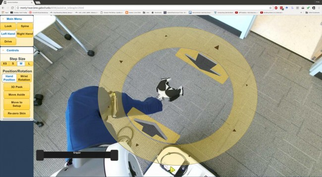 Controlling a Robot with Augmented Reality (IMAGE)