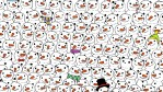 The Internet is going nuts in search for a panda in a sea of snowmen
